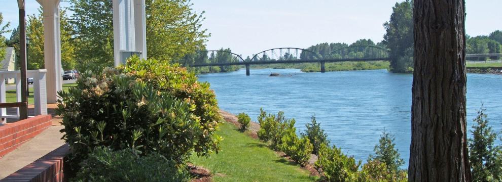 Willamette River - Riverfront Park